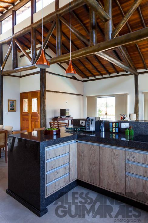 Projekty,  Kuchnia zaprojektowane przez SCALI & MENDES ARQUITETURA SUSTENTAVEL