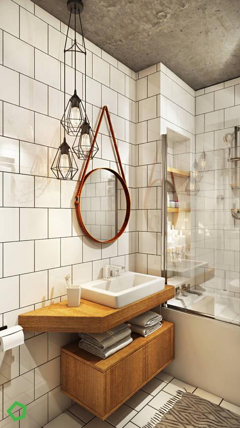 ห้องน้ำ by Polygon arch&des