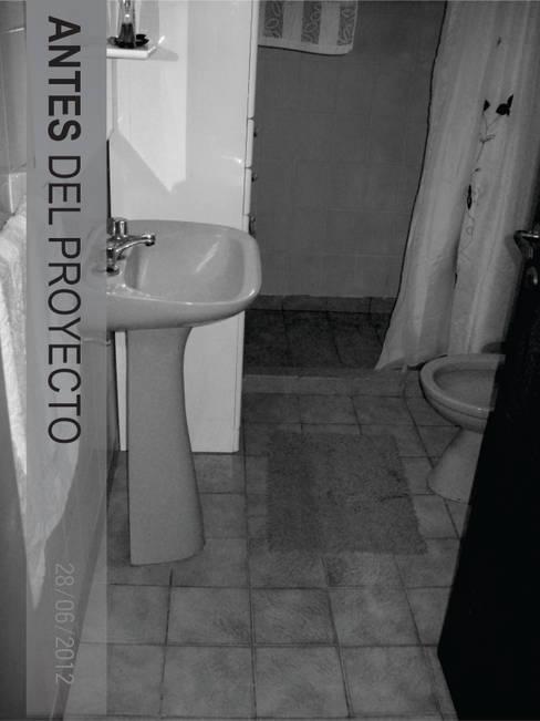Bathroom by D'ODORICO OFICINA DE ARQUITECTURA