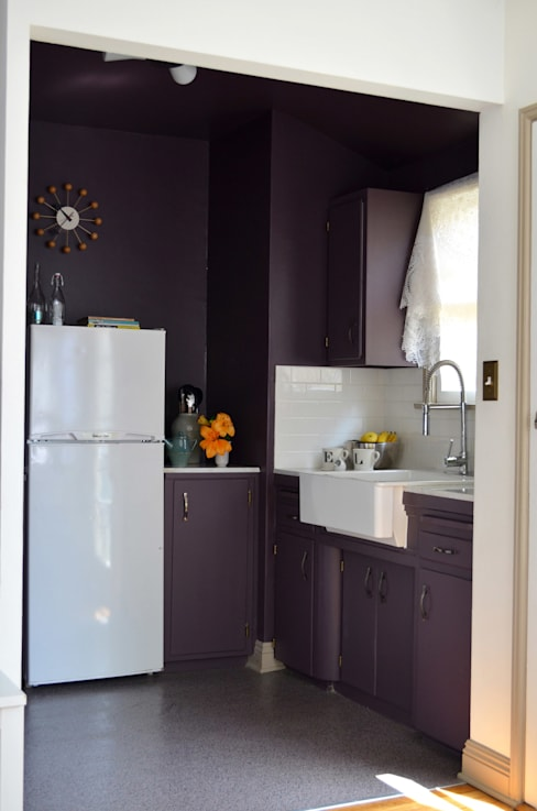 مطبخ تنفيذ Erika Winters Design