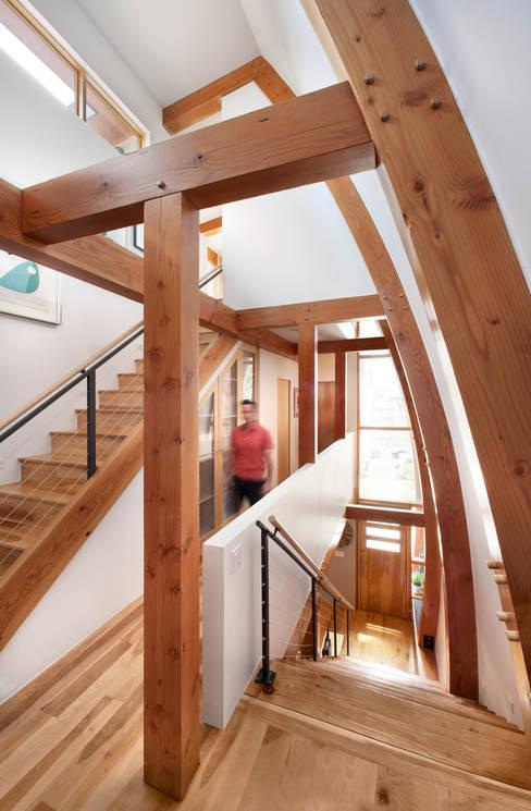 LoHi Private Residence:  Corridor & hallway by Andrea Schumacher Interiors