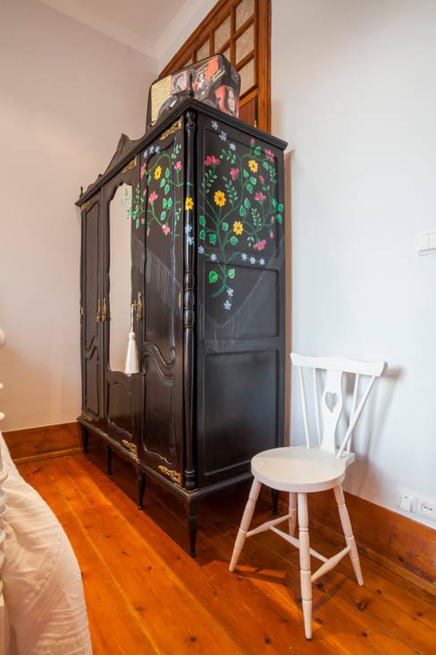 Dormitorios de estilo  de alma portuguesa