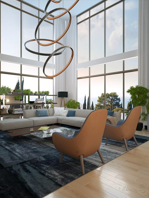 Living room by VITTA-GROUP