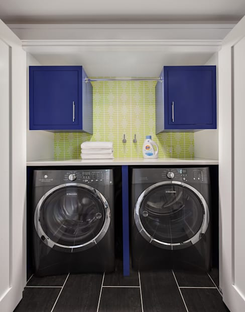 Laundry Room:  Corridor & hallway by Clean Design