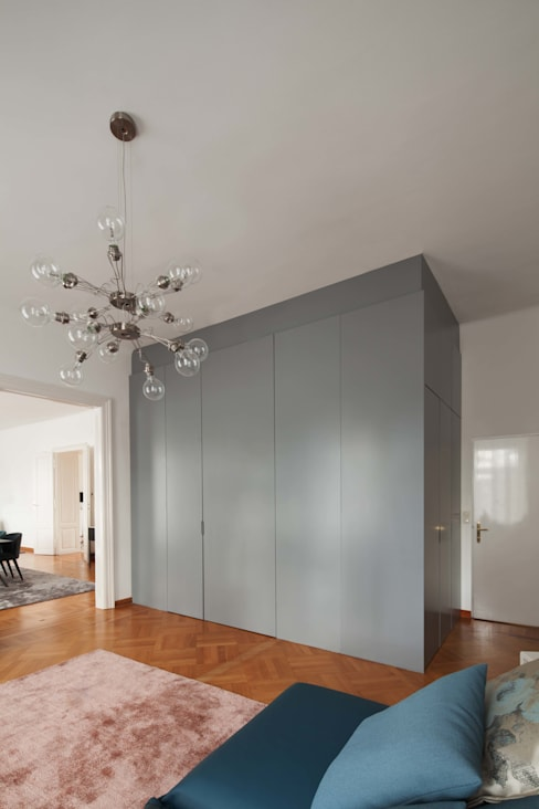 Dressing room by destilat Design Studio GmbH