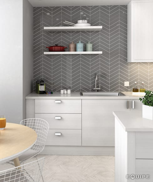 Kitchen by Equipe Ceramicas