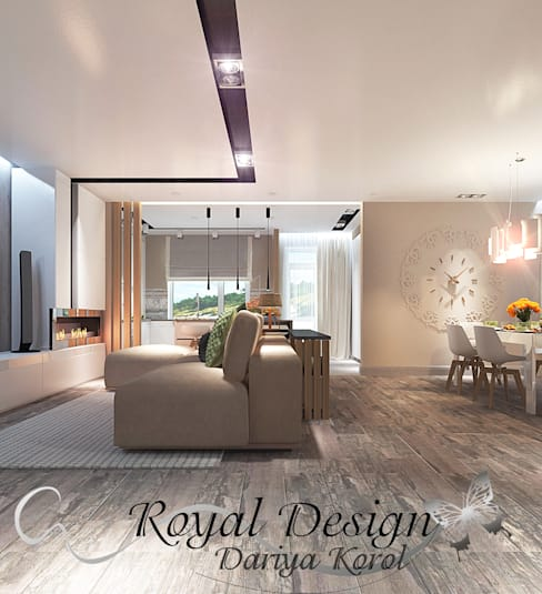 Living room by Your royal design