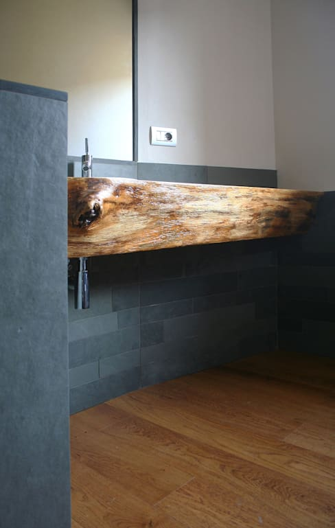 Baños de estilo  por Architetto Luigi Pizzuti