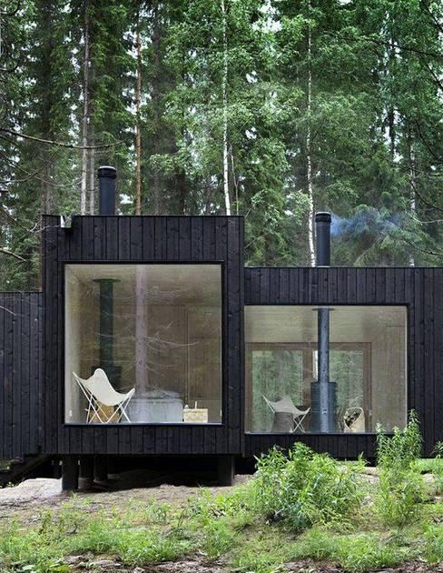 Projekty,  Domy zaprojektowane przez Casa Container Brasil