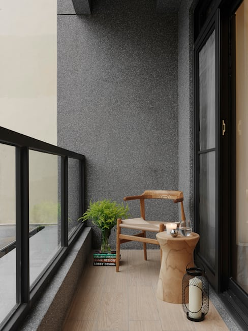 Patios & Decks by 夏沐森山設計整合