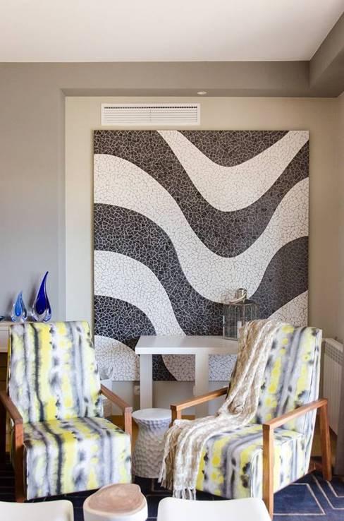 A touch of SA interior in Portugal:  Media room by Kim H Interior Design
