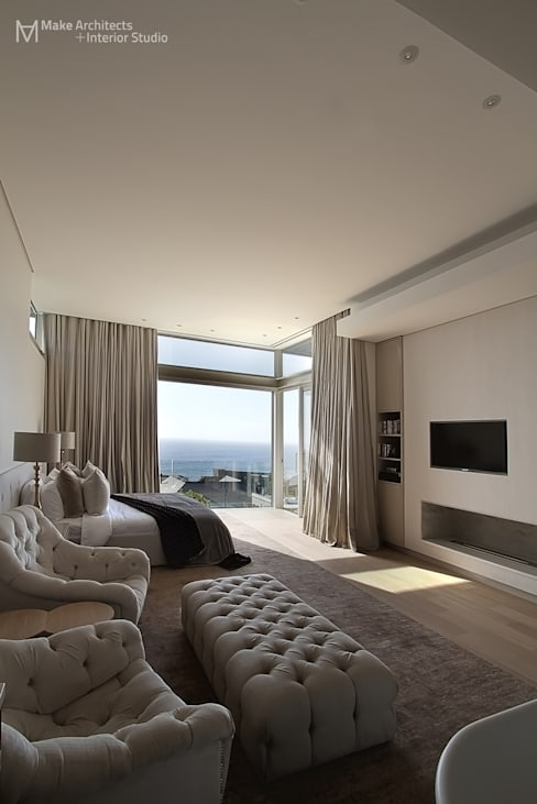 Hove Road :  Bedroom by Make Architects + Interior Studio