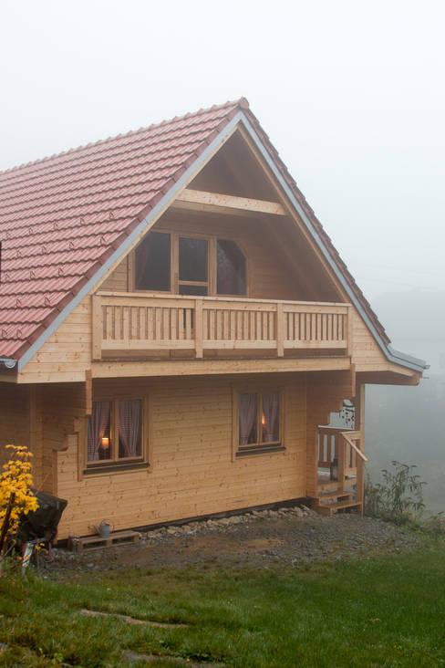 กระท่อมไม้ by THULE Blockhaus GmbH - Ihr Fertigbausatz für ein Holzhaus