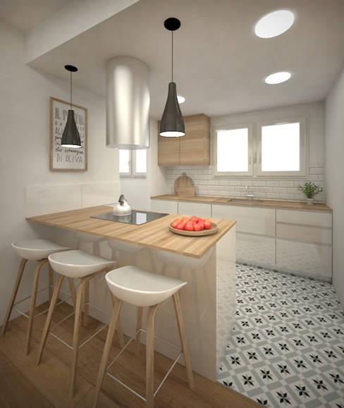 ห้องครัว by Grupo Inventia