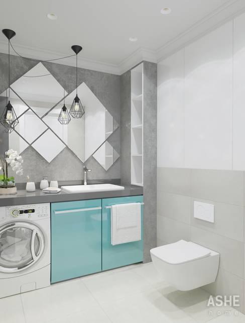 Студия авторского дизайна ASHE Homeが手掛けた浴室