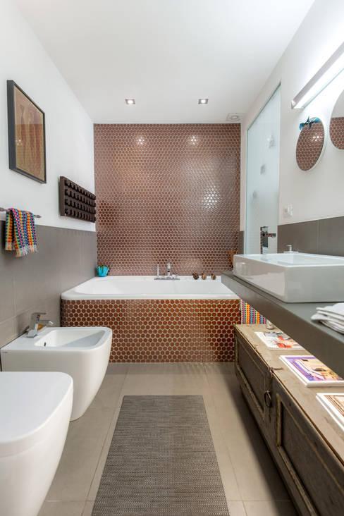 Architetto Francesco Franchiniが手掛けた浴室