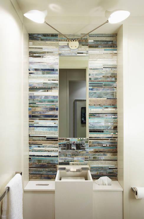 Powder Room:  Bathroom by Douglas Design Studio