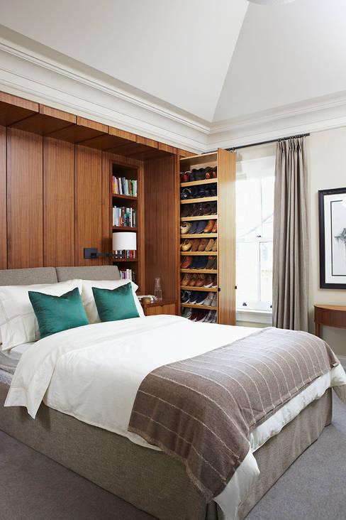 Bedroom Storage:  Bedroom by Douglas Design Studio