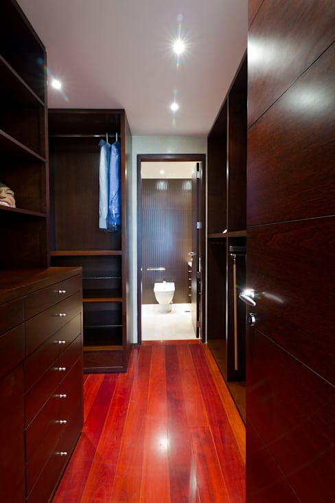 Dressing room by Objetos DAC
