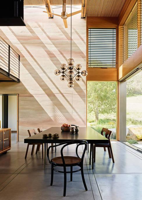 Dining room by Feldman Architecture