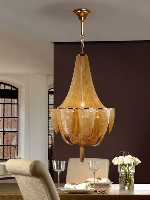 Comedor de estilo  de Intense mobiliário e interiores;