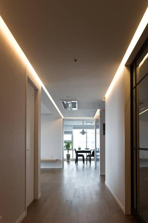 Projekty,  Salon zaprojektowane przez ARA