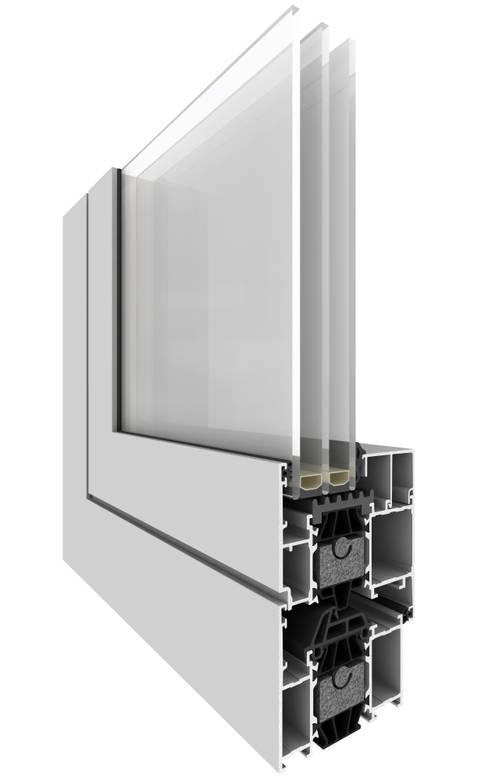 Star 75: Janelas e portas  por Smartalu Aluminium Solutions