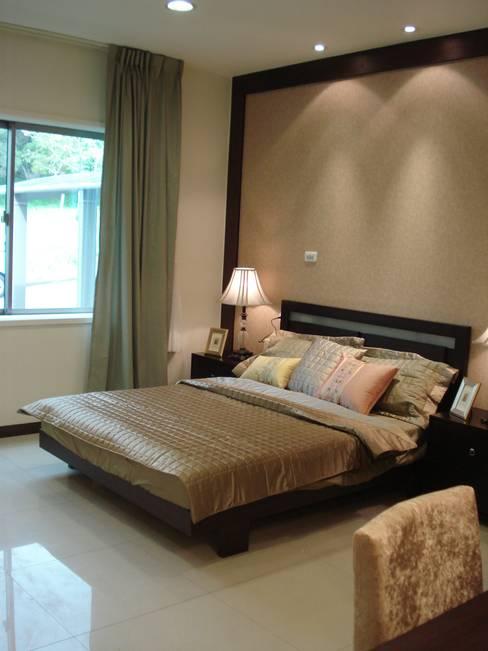 台日國際住宅股份有限公司が手掛けた寝室