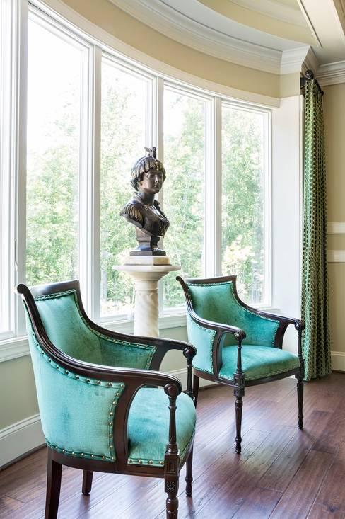 Study/office by Lorna Gross Interior Design