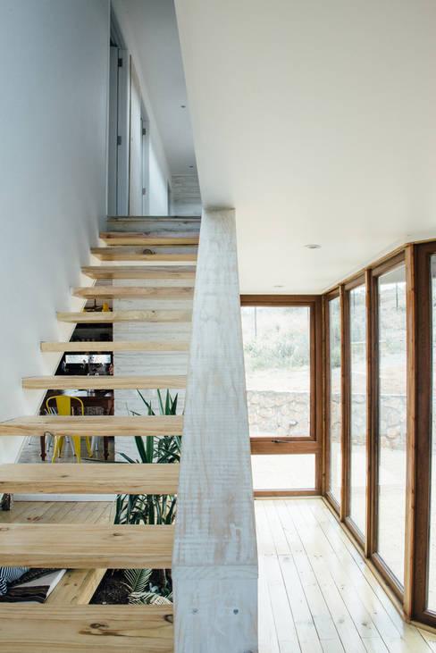 acceso: Pasillos y hall de entrada de estilo  por Thomas Löwenstein arquitecto