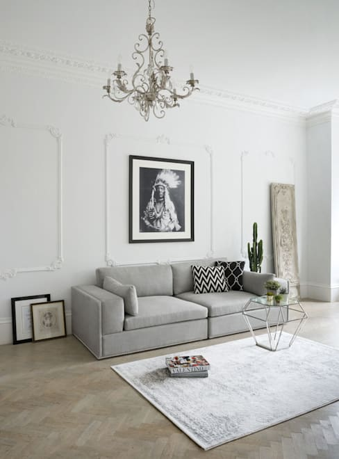 Living room by Sweetpea and Willow® London Ltd