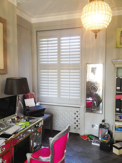 Study/office by Plantation Shutters Ltd