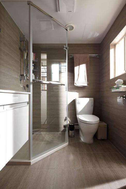 休憩 chill-out:  浴室 by 耀昀創意設計有限公司/Alfonso Ideas