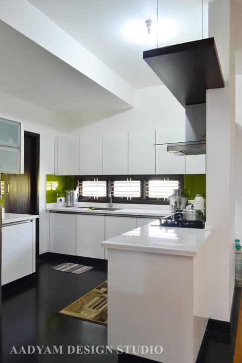 Kitchen by Aadyam Design Studio