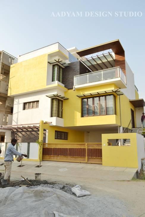 Houses by Aadyam Design Studio