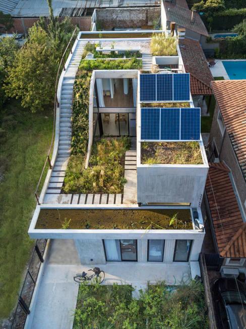 Projekty,  Domy zaprojektowane przez BAM! arquitectura