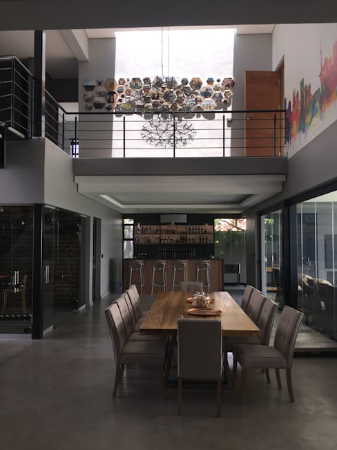 Dining room by Graftink Interior and Architectural Design Studio