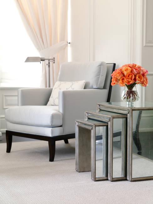 Living Room Detail:  Living room by Douglas Design Studio