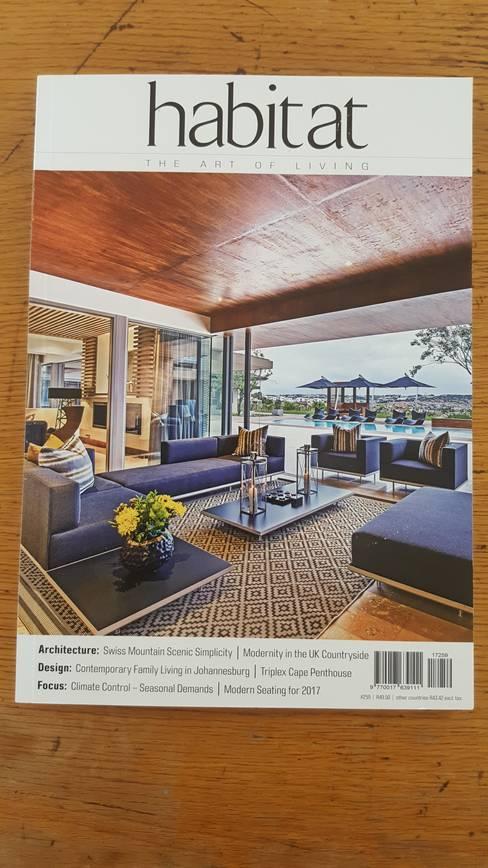 Casas de estilo  por Gelding Construction Company  (PTY) Ltd