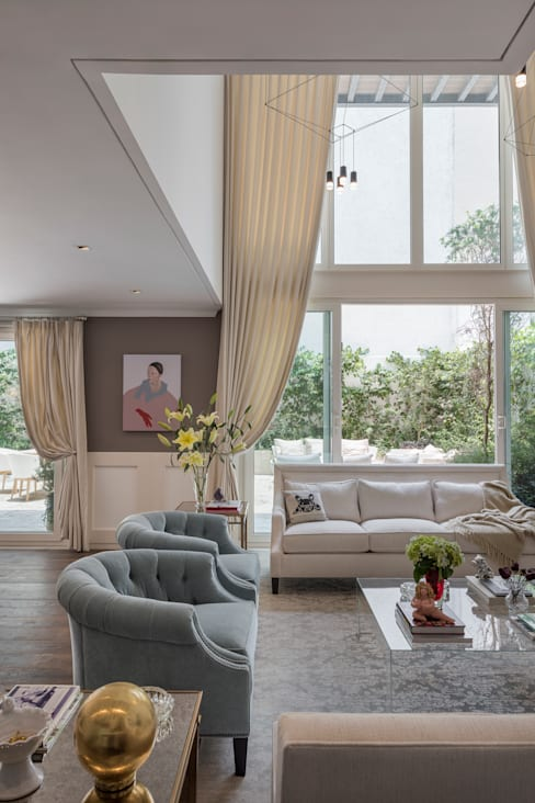Living room by MAAD arquitectura y diseño