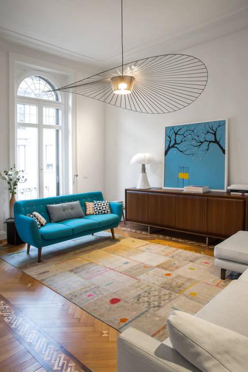 Ruang Keluarga by Chantal Forzatti architetto