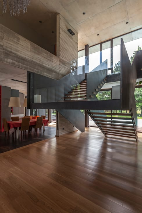 Living room by Ciudad y Arquitectura