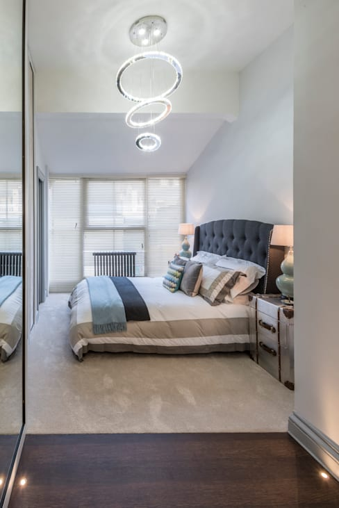 Bedroom by Prestige Architects By Marco Braghiroli
