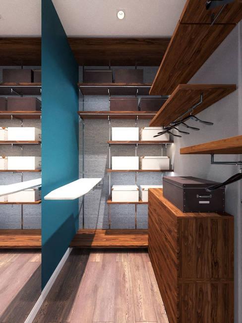 更衣室 by Loft&Home