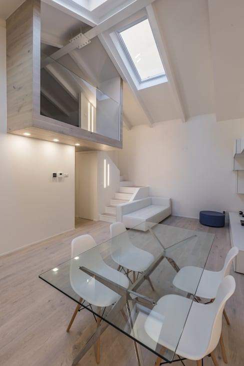 Living room by Biondi Architetti