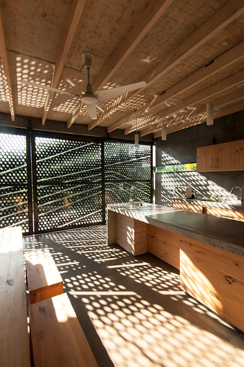 Cocinas de estilo  por Ecologic City Garden - Paul Marie Creation