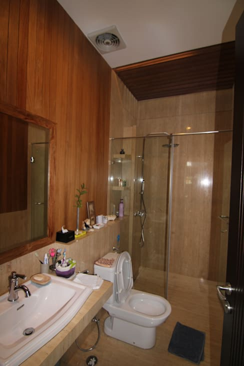 浴室 by sony architect studio