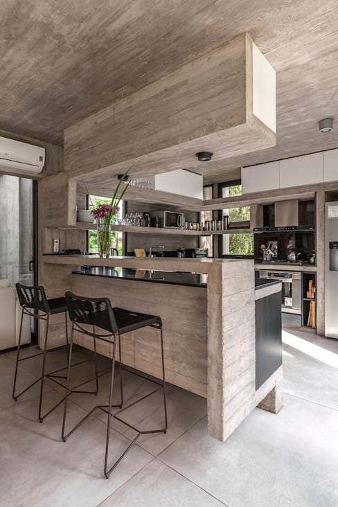 Cuisine de style  par Besonías Almeida arquitectos