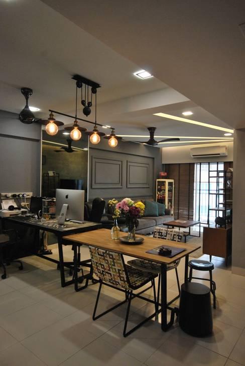 ห้องทำงาน/อ่านหนังสือ by Hatch Interior Studio Sdn Bhd