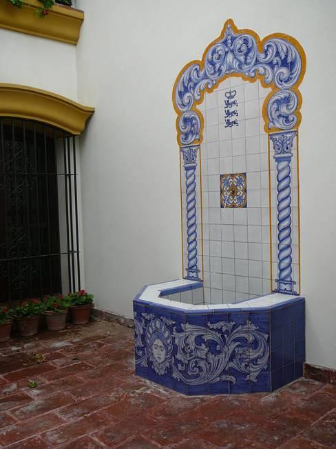 Balconies, verandas & terraces by Estudio Dillon Terzaghi Arquitectura - Pilar